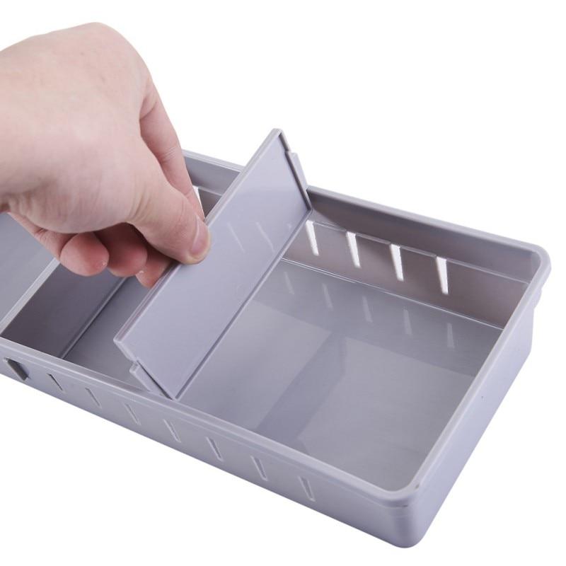 Plastic Diy Storage Box Underwear Drawer Organizer With 2