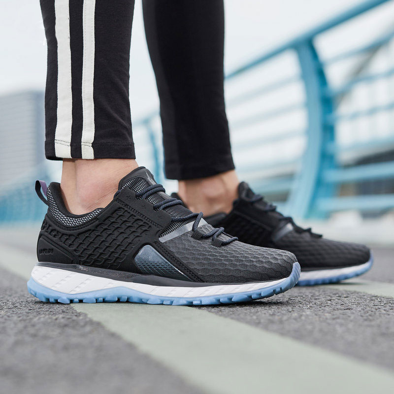 Li ning mujeres LN CLOUD SHIELD 2018 almohadones para correr zapatos impermeables para deportes zapatillas deportivas zapatillas de deporte SOND18-in Zapatillas de correr from Deportes y entretenimiento on AliExpress - 11.11_Double 11_Singles' Day 1