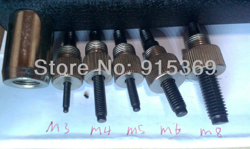 US $45 0  Rivet Nut Tool Kits M3 M8 160pcs Rivet Nuts + Tool Inserting  tools-in Riveter Guns from Tools on Aliexpress com   Alibaba Group