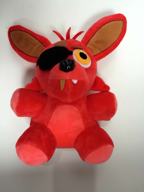 Hot FNAF Five Nights at Freddy's FOXY PIRATE Plush Toy 10""