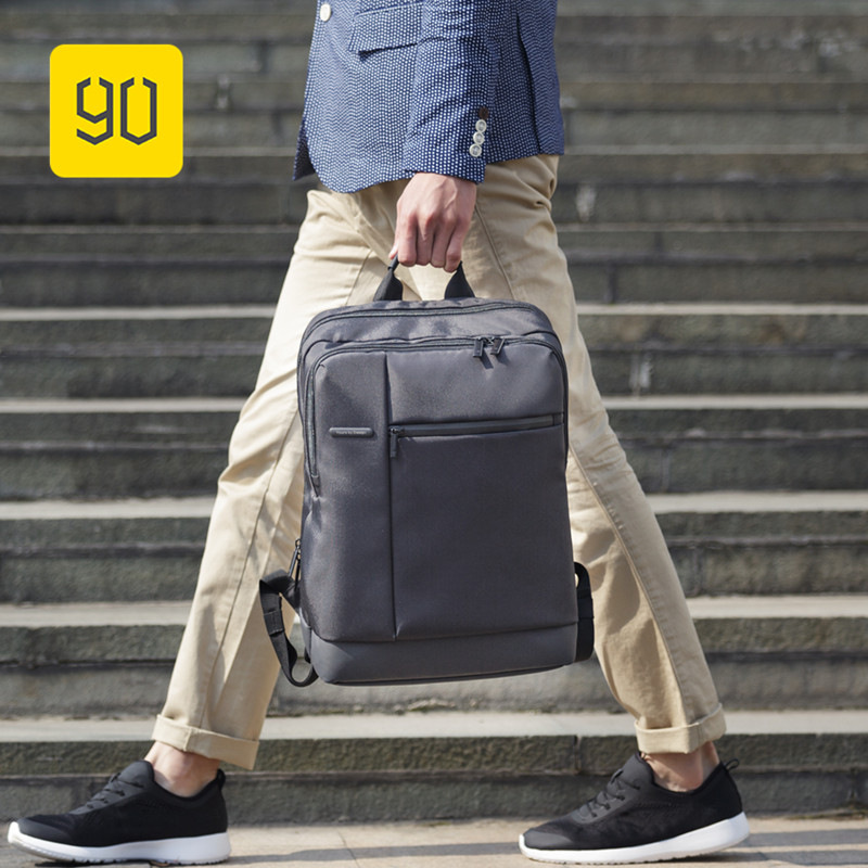 "Xiaomi 90fun Classic Business Backpack Women Men Large Capacity Computer Bagpack Students Mochila For 15"" Laptop Backpacks"