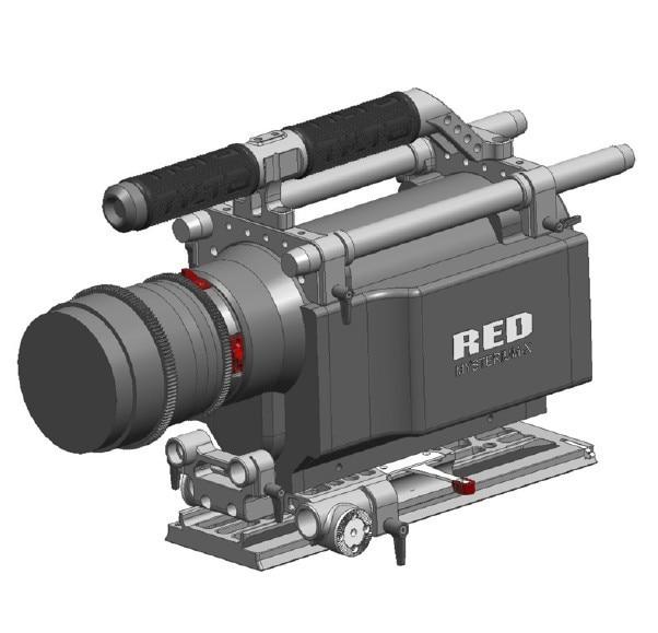 Tilta RED ONE MX Рог Pro камеры поддержки плечо установка клетка для RED ONE MX камеры Бесплатная доставка