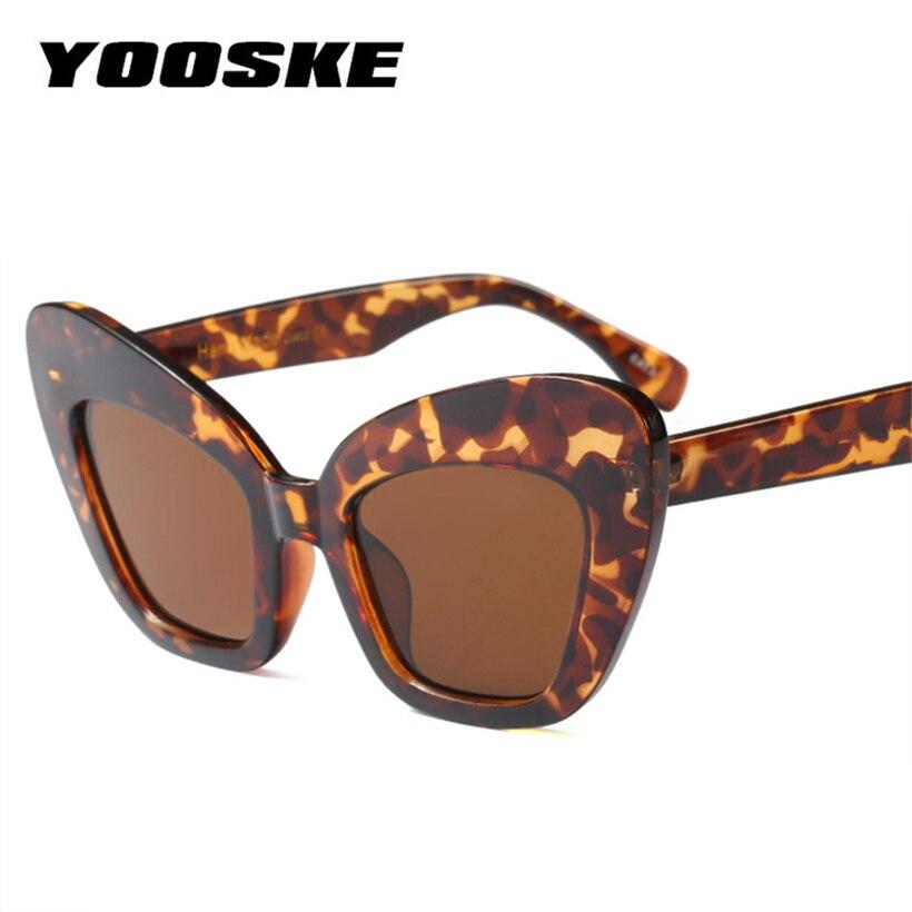 aaece1576c zeroUV Damen-Accessoires Sonnenbrillen   Zubehör Bold Retro Oval Mod Thick  Frame Sunglasses Clout Goggles with ...