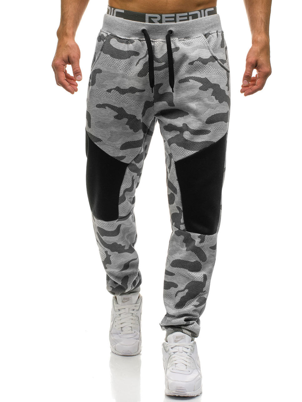 2019 New Stretch Sweatpants Men Camo Jogger Pants Men's Trousers Camouflage Joggers Male Track Pants Mens Sweat Pants