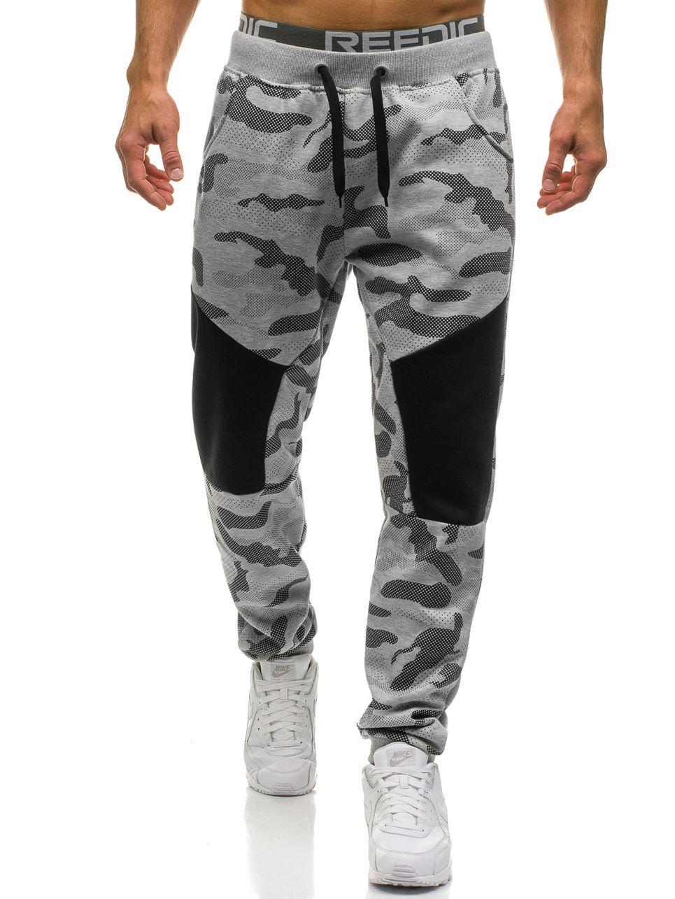 2019 New Stretch Sweatpants Men Camo Jogger Pants Men's Trousers Camouflage Joggers Male Track Pants Mens Sweat Pants