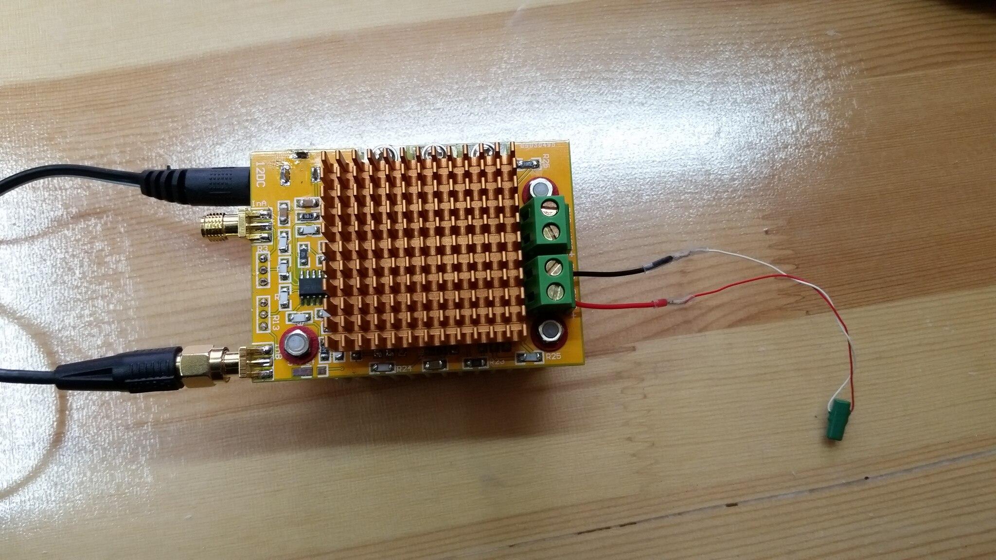 Module de contrôle d'entraînement piézoélectrique en céramique PZT Module d'amplification d'opération linéaire à haute tension 100 V sortie à haute tension