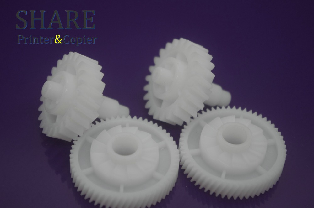 10 X Fuser Drive Gear RU6-0018-000 For hp P1505 1505n M1522n M1120n  Fuser Drive Gear 23T 56T RU6-0018 high quality new original fuser drive gear compatible for canon ir5000 6020 5020 6000 fs7 0658 000 75t 22t gear
