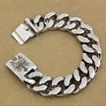9 Lengths 316L Stainless Steel Deep Engraved  Angel Cross Mens Biker Rocker Punk Bracelet Engraving Service 5D206