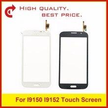 عالية الجودة ل SamsungGalaxyMega5.8 i9150 i9152 GT i9150 GT i9152 محول الأرقام لوحة شاشة لمس الاستشعار الخارجي الزجاج + TrackingCode