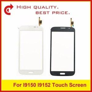 Image 1 - Yüksek Kalite SamsungGalaxyMega5.8 i9150 i9152 GT i9150 GT i9152 Sayısallaştırıcı dokunmatik ekran paneli Sensörü Dış Cam + TrackingCode