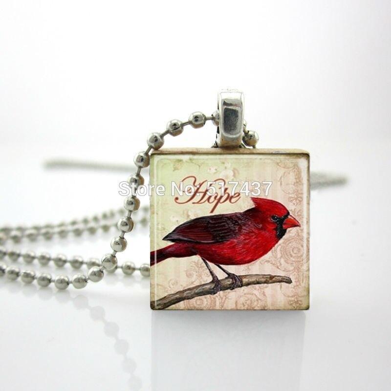 2015 Новый Деревянный Эрудит Плитки Красная Птица Кулон Красная Птица Шарм Эрудит Плитка Украшения