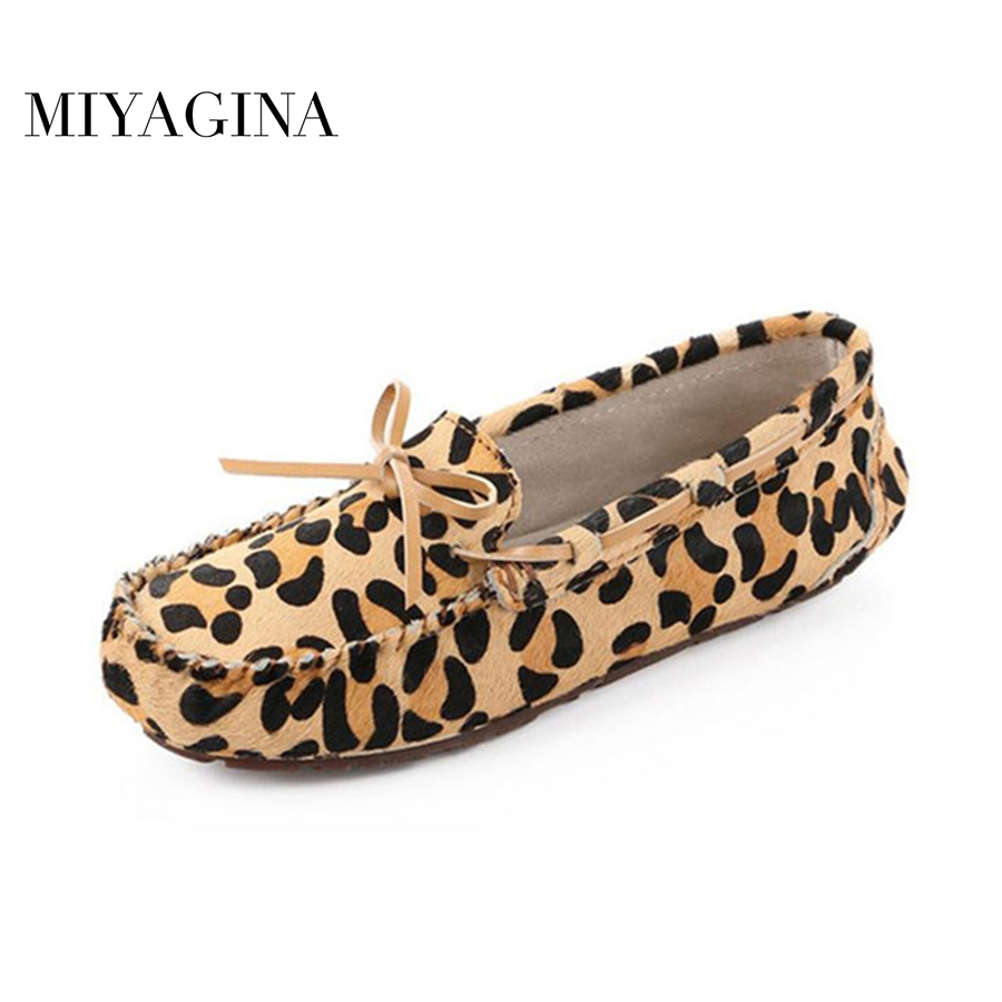 High Quality 2018 New Women Flats Genuine Horsehair Women Shoes Brand Leather Driving Shoes Spring Summer Women Casual Shoes new 2017 spring summer women shoes pointed toe high quality brand fashion womens flats ladies plus size 41 sweet flock t179