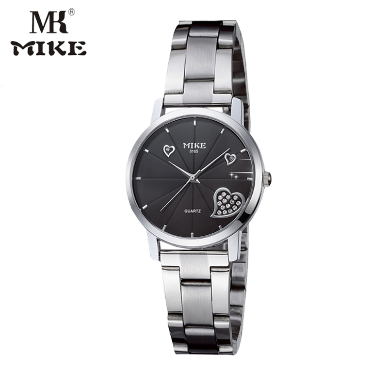 Mike Wrist Watches For Women Lovers Watch Water Resistant Rhinestone Watch Unique Watch Relogio Feminino Relojes Mujer 2017 Saat