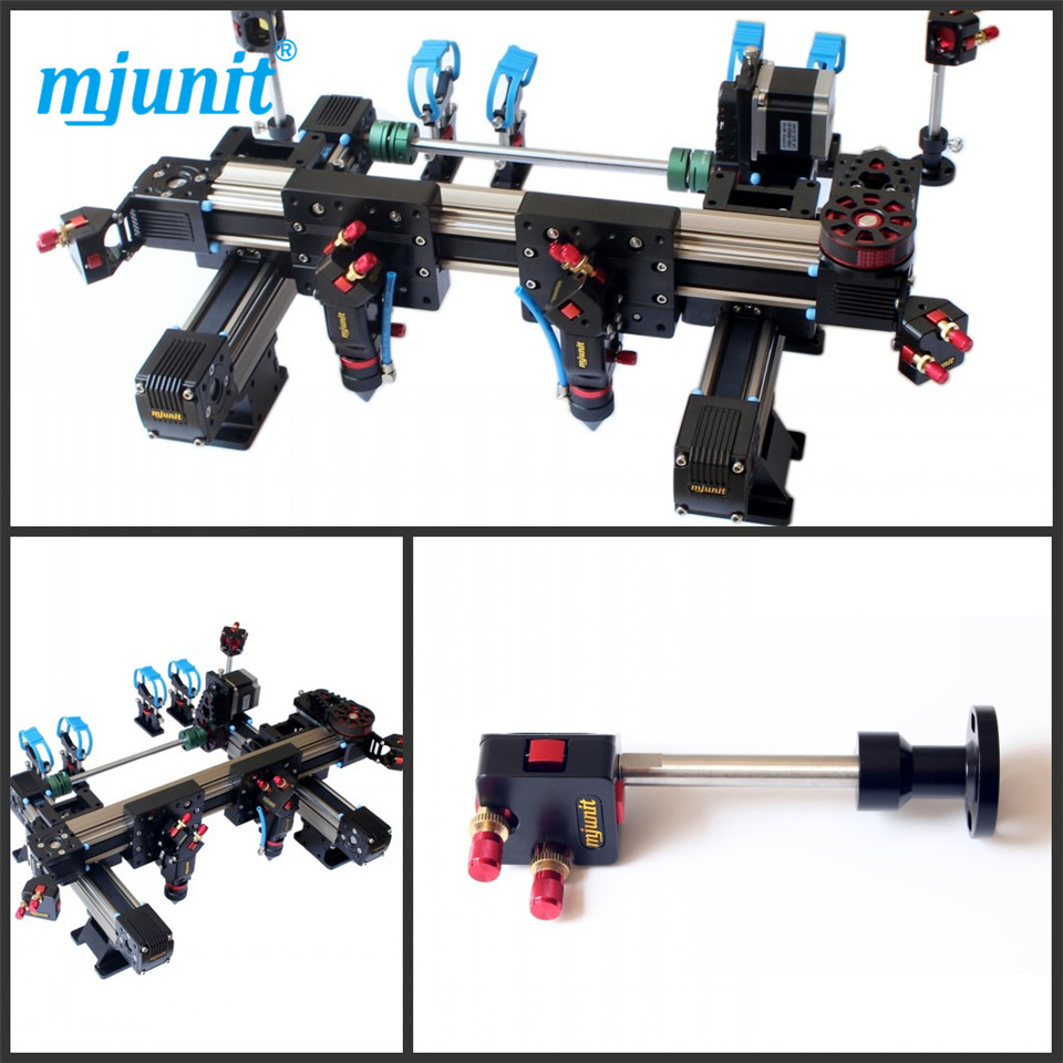 mjunit Kit of Co2 Laser Cutting Machine Spare Parts with 9060 Size two heads