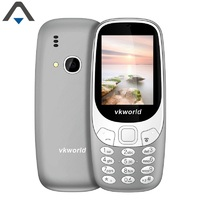 Original Vkworld Z3310 Cell Phone 2 4 Inch Single Core 32MB RAM 32MB ROM 2MP 1450mAh