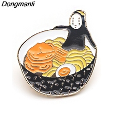 P3844 Dongmanli Cute Metal Enamel Brooches and Pins Collection Lapel Pin Backpack Badge Collar Jewelry