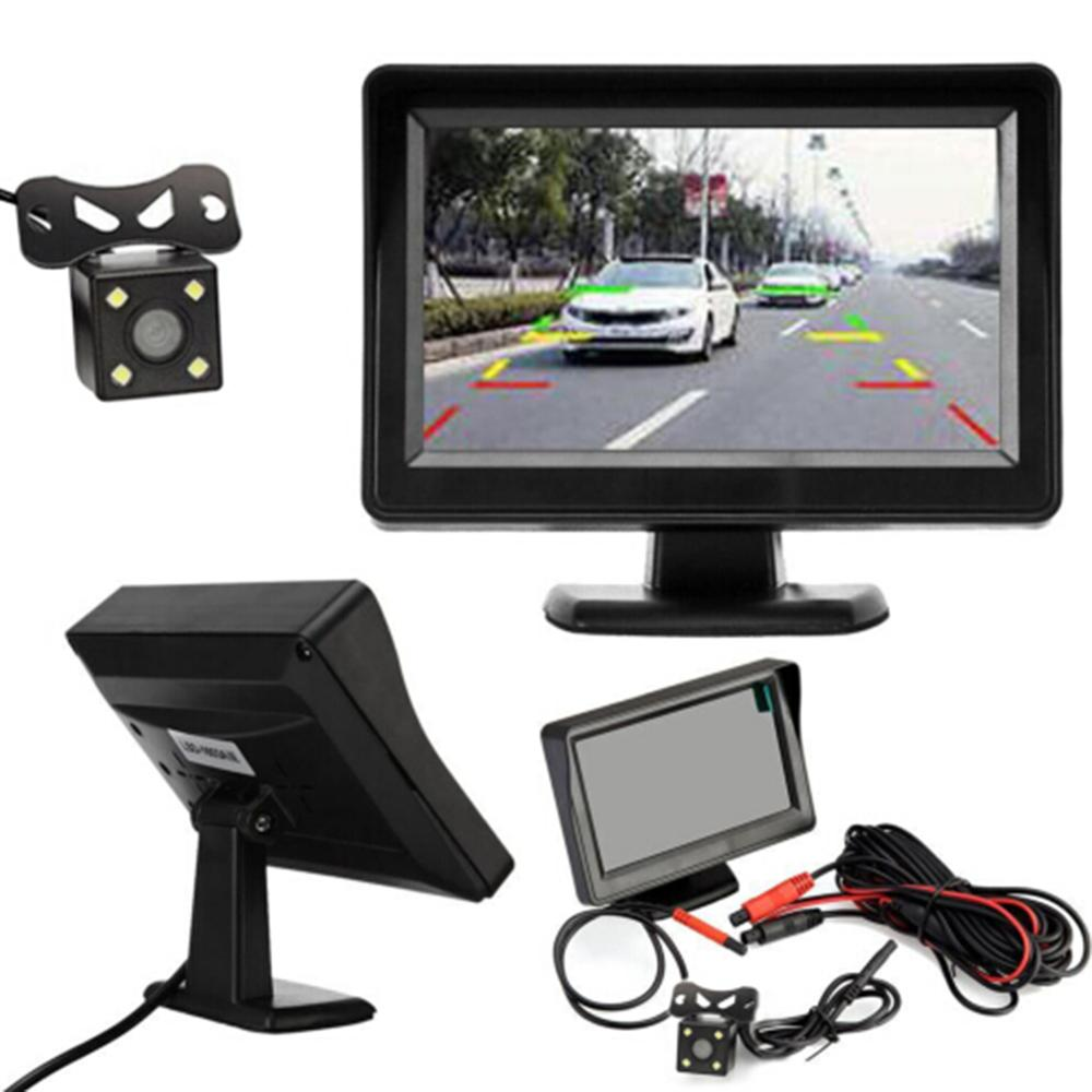 Rear-View-Camera Monitor Backup Night-Vision 12v Car title=