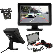 Sistema di retrovisione di parcheggio di retromarcia di visione notturna del corredo della macchina fotografica di retromarcia del monitor della macchina fotografica di retrovisione dell'automobile da 4.3 pollici 12V