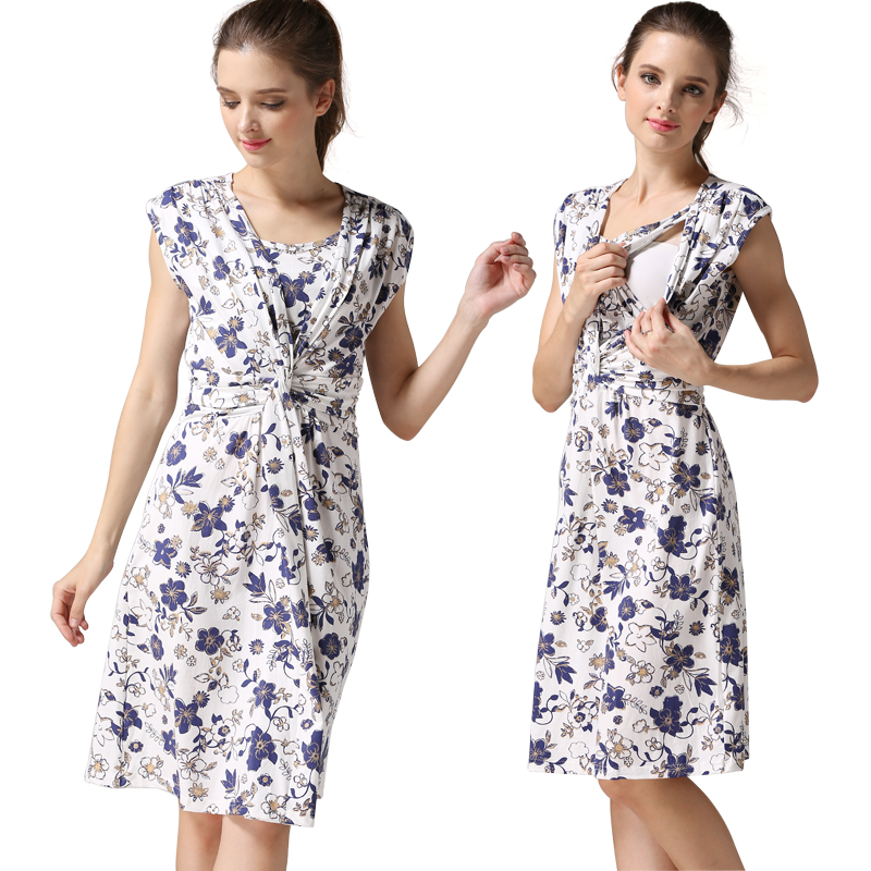 Wholesale maternity Dress nursing dress Breastfeeding Autumn Dress for Pregnant Women Winter style maternity clothes