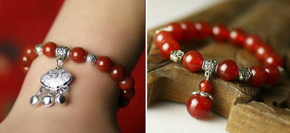 Women/'s Tibetan silver Pearl bead bracelet