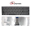 Lenovo g50 z50 z50-70 z50-75 ru laptop keyboardfor b50 g50-70a g50-70h g50-30 g50-45 g50-70m g50-70 ru preta com moldura de prata