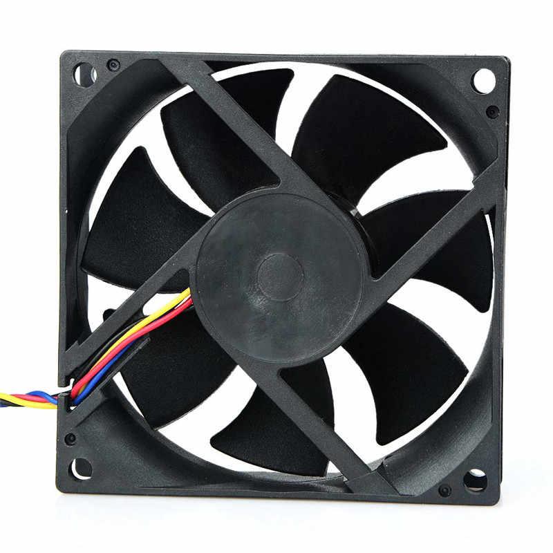 ホット販売 AVC 8025 80 ミリメートル × 80 ミリメートル × 25 ミリメートル DL08025R12U 油圧ベアリング PWM クーラー冷却ファン 12V 0.50A 4 ワイヤー 4Pin コネクタ