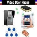 Wireless Wifi IP Digital Video Door Phone Intercom Doorbell with Mini Door Bell RFID Code Keypad Remote Control Doorphone
