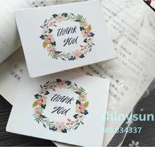 50pcs/lot new product Rectangle Garland card