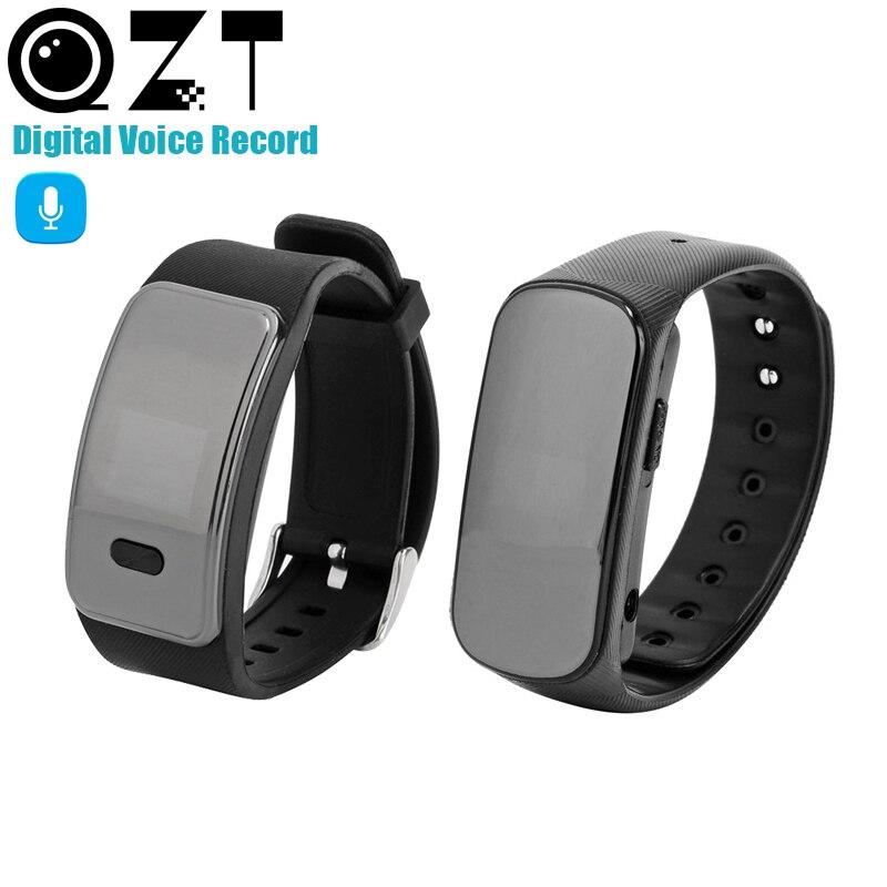 8GB dźwięk cyfrowy rejestrator zegarek aktywowana głosem nagrywanie opaska na nadgarstek dyktafon ekran OLED spotkanie klasy biznesowej