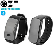QZT dyktafon zegarek Mini cyfrowy Audio dyktafon MP3 gramofon nagrywanie dźwięku zegarek Mini aktywowana głosem rejestrator