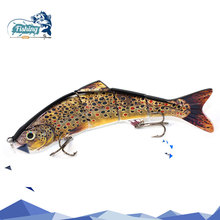 Sinking Fishing Lure Four Segments Fishing Lures joint bait Jointed swimbait 145g 25 cm Arduous Bait Fishing Sort out for Ocean Fish