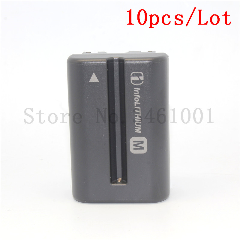 10pc lot NP FM500H NP FM500H FM50 Camera Battery for SONY A57 A65 A77 A450 A560