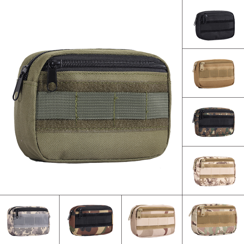 Tactical Pocket Organizer EDC Pouch Military Belt Pouch Hunting Pack Tool Bag Small Army Utility Field Sundries Pouch airsoft tactical bag 600d nylon edc bag military molle small utility pouch waterproof magazine outdoor hunting bags waist bag