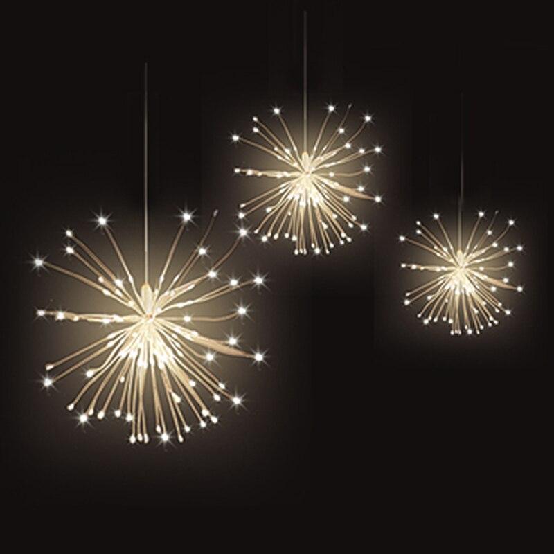 200 luzes da corda led dobravel bouquet gerlyanda luzes de fadas a prova d agua diy