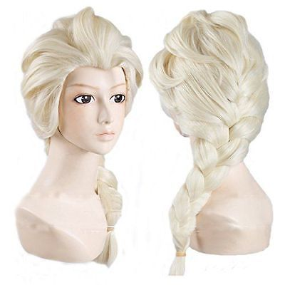 Cosplay Wig Long Weaving Braid Light Blonde Wigs Extremely Efficient In Preserving Heat