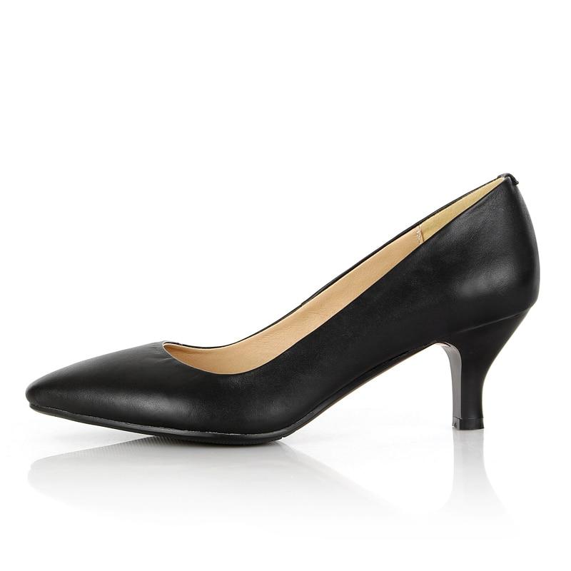 2019 в европейском стиле в стиле панк, большие размеры, с квадратным носком, из водонепроницаемого материала Обувь на высоком каблуке женские ... - 3