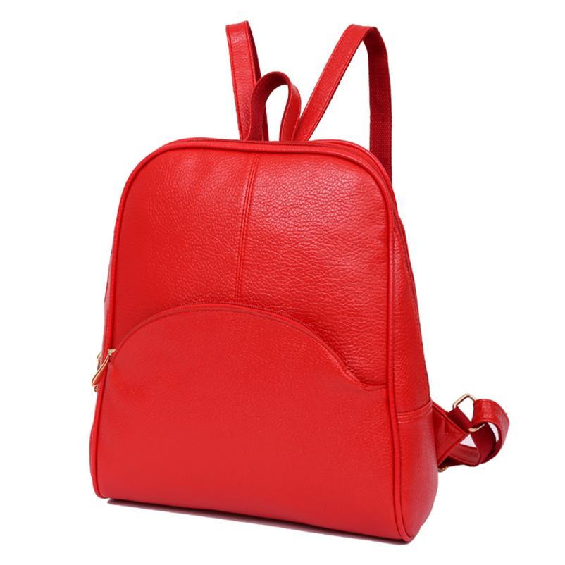 Ocardian Women Backpack Leather Backpacks Softback Bags Brand Name Bag Preppy Style Bag Casual Backpacks Teenagers Backpack X99 #3