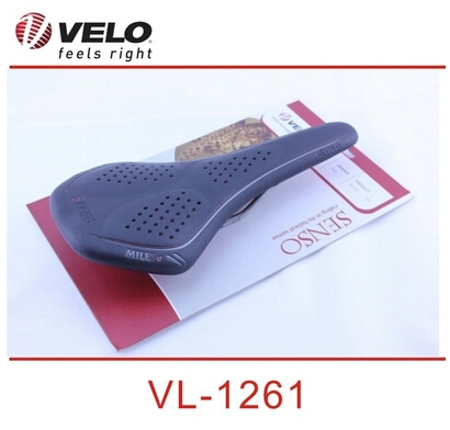 VELO VL-1261 saddle mountain bike road bicycle FOLDING bike Saddle VELO Leather Saddle saddle accessories bicycle seat