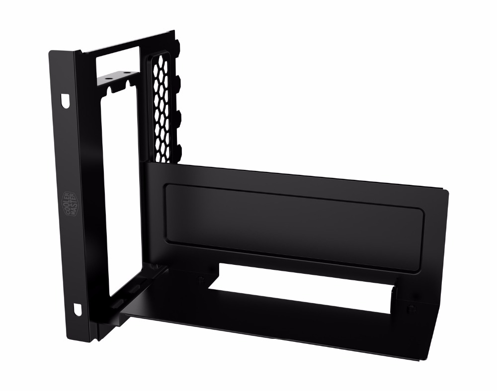 High quality steel Vertical Graphics Card Holder Cooling Classis ATX Computer case FreeForm contain pcie extender цена и фото