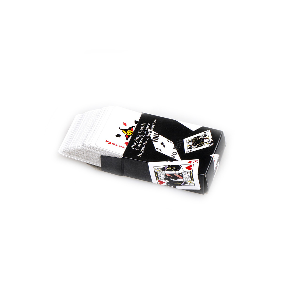Cute Miniature Games Poker Mini Dollhouse Playing Cards Miniature 1:12 For Dolls Accessories Home Decoration 5.3 X 3.8 Cm