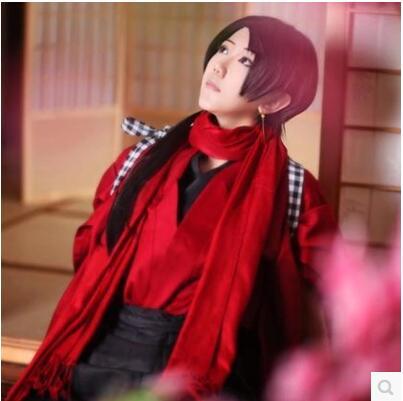 Free Shipping Full Set Anime Touken Ranbu Online Kashuu Kiyomitsu Uniform Cosplay Costumes