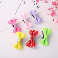 Candy Color baby girl scarce hairstyle bow hair clip cute BB children accessories mini