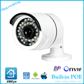 DC48V POE 1920 x 1080P 2.0MP Waterproof Bullet IP Camera Outdoor CCTV Camera ONVIF Night Vision P2P IP POE camera