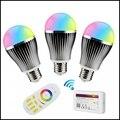 Milight E27 9W Brightness adjust Bulbs RGBW RGBWW Wireless Wifi Controller Box Mi.light 4-zone RGBW RF Controller