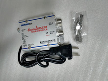 1 in 2 out  CATV Cable TV Video  Signal Amplifier AMP Booster Splitter Broadcast Equipments Accessories
