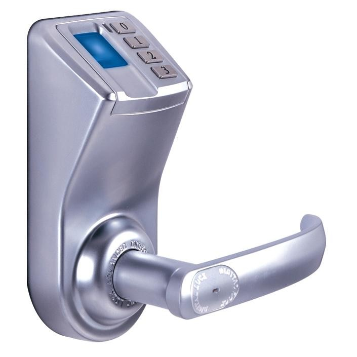 Free Shipping KO-F33 Fingerprint Door Lock Adel 3398 (Fingerprint+Password+Key)