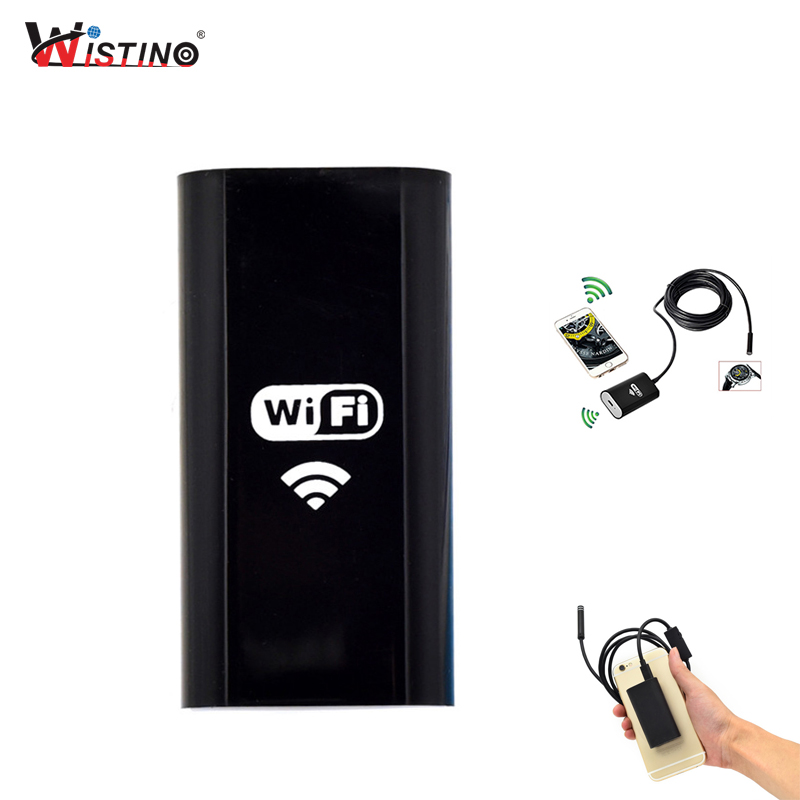 Endoscope WiFI Transmitter Box Only For Wifi Endoscope Camera 8mm Len 720P USB Camera Inspection Camera Snake Tube Android IOS jcwhcam wireless wifi transmitter for 5 5mm 7mm 8mm usb endoscope inspection camera for above android 4 4 and ios 8 0