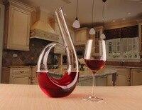1 шт. Премиум бессвинцовый Хрустальный Декантер для красного вина 1200 мл аэраторный Графин для вина улучшить вино вкус наборы для бара JS 1103