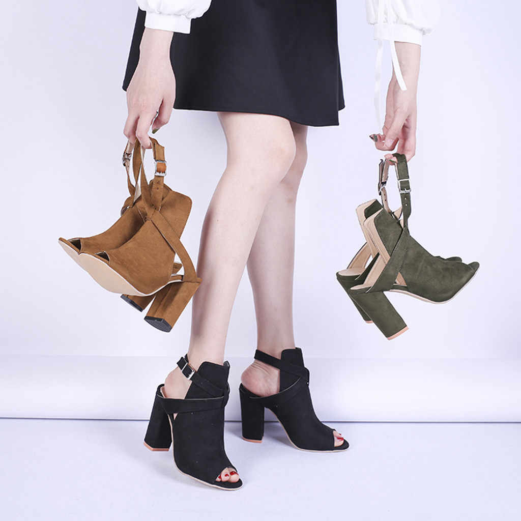 Yarım çizmeler burnu açık batı botları kovboy çizmeleri kadın platformu yüksek topuk çizmeler korte laarzen dames 2019 7 #3.5