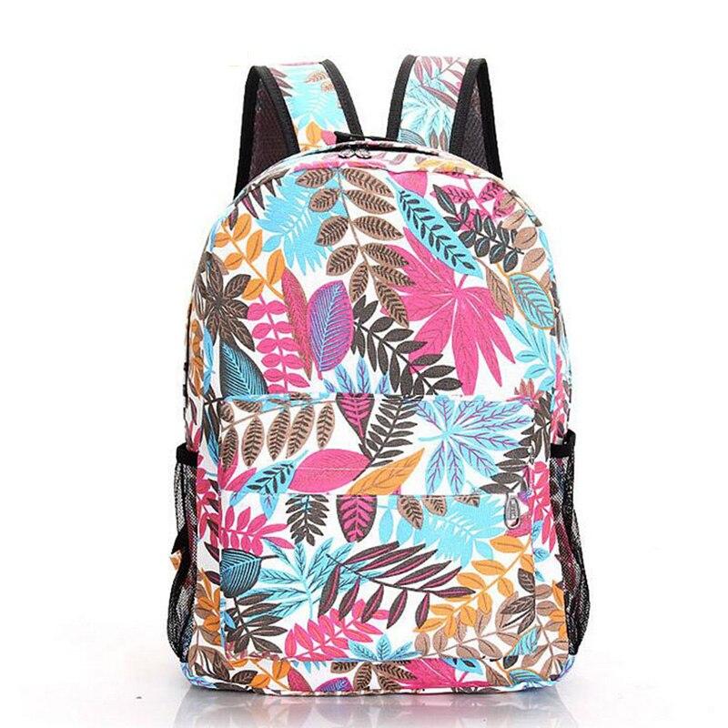 Senkey stijl 2017 canvas afdrukken rugzak vrouwen schooltassen voor - Rugzakken - Foto 2